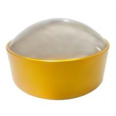 Лупа Kromatech без ручки 10х, 75 мм, в желтой оправе